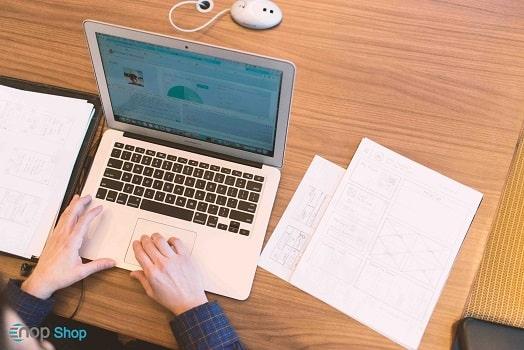 طراحی سایت در ناپ شاپ