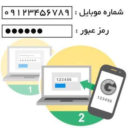 تصویر ثبت نام و لاگین با شماره موبایل