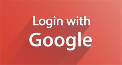 لاگین با گوگل (جیمیل)