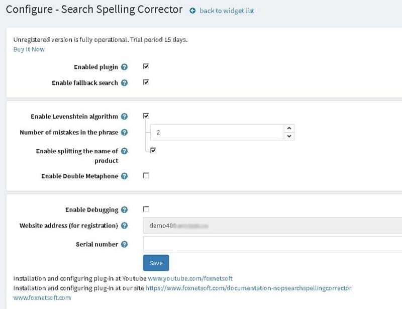Search Spelling Corrector