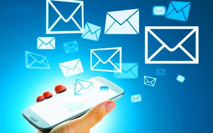 تصویر ارسال پیامک (SMS)