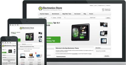 تصویر 1 تم ناپ کامرس - Electronics-responsive-theme-for-nopcommerce
