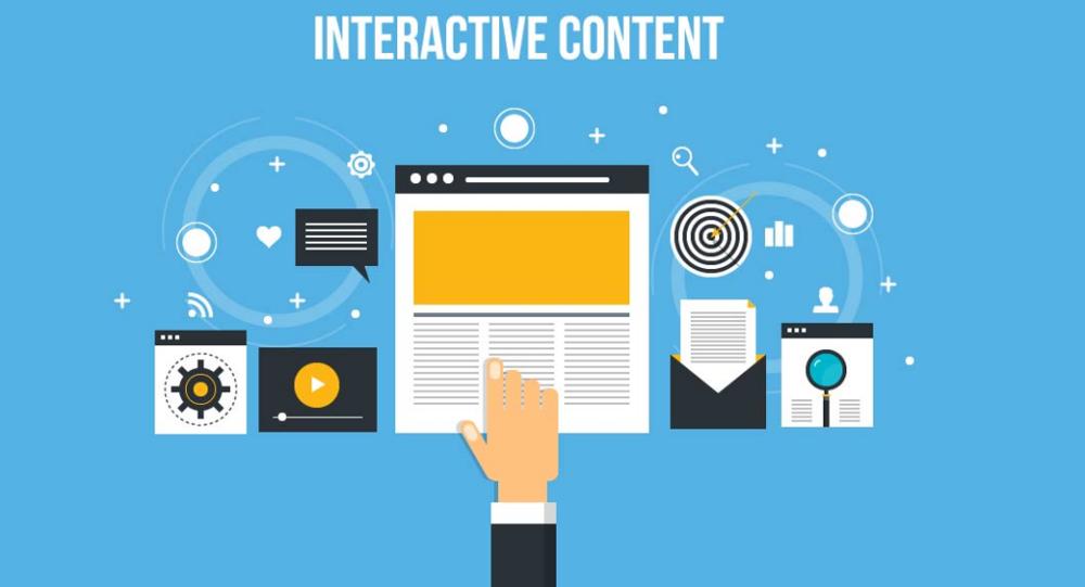 تولید محتوای تعاملی