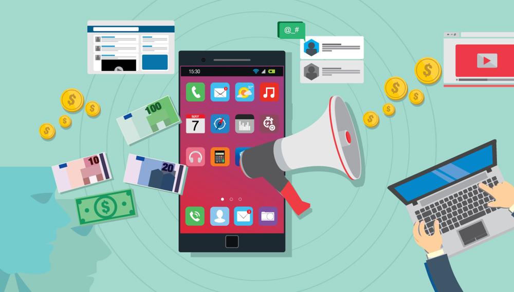 روش های تبلیغات در اپلیکیشن های موبایل