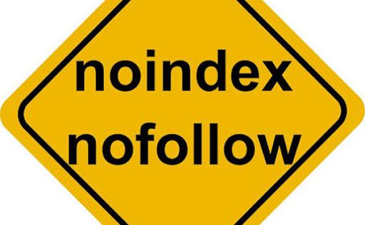 تصویر NoIndex و NoFollow کردن لینک ها